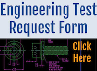 Engineering Test Request Form
